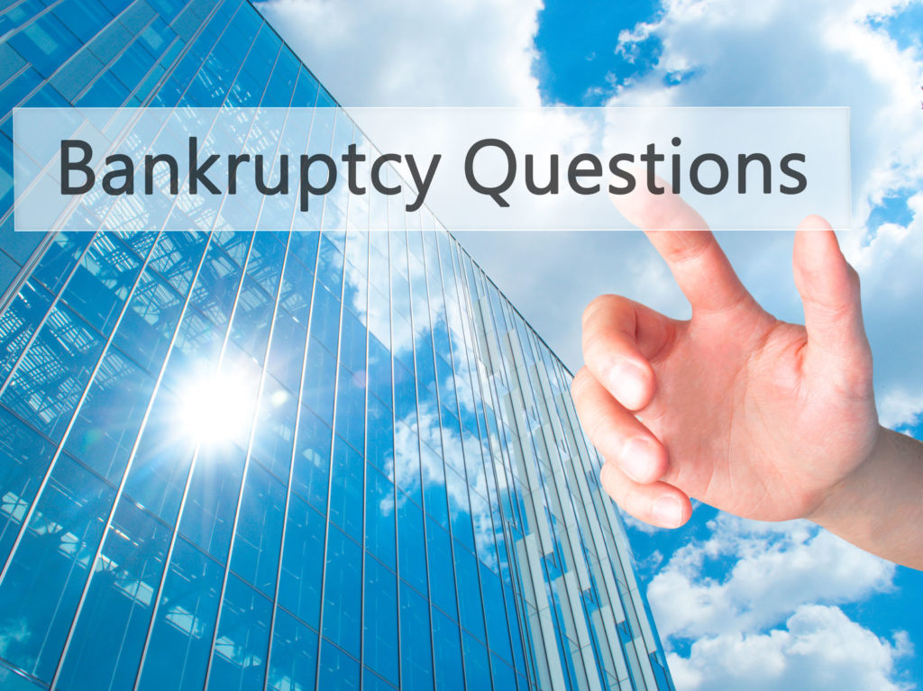 How bankruptcy affects your credit score